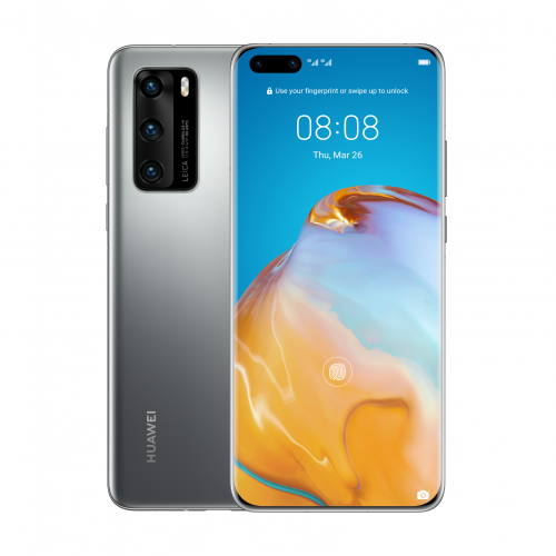 HUAWEI P40 - Silver Frost