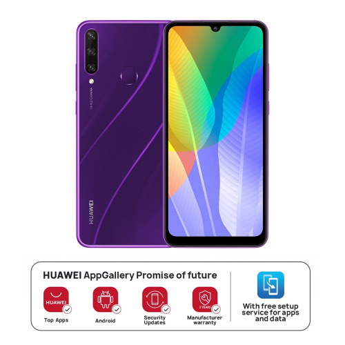 HUAWEI Y6p - Phantom Purple