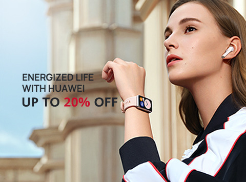 Energized life with HUAWEI