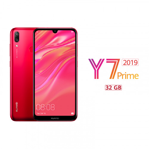HUAWEI Y7 Prime 2019 - Coral Red - 32 GB