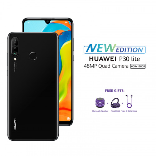 HUAWEI P30 Lite New - Midnight Black
