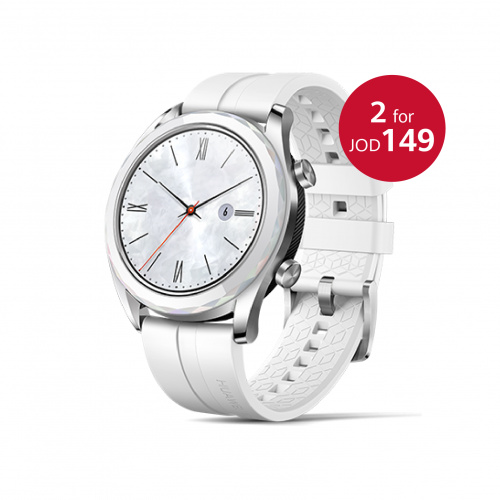 2 PCS HUAWEI WATCH GT - White