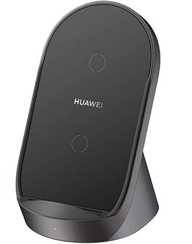 HUAWEI SuperCharge Wireless Charger Stand (Max 40 W) - أسود