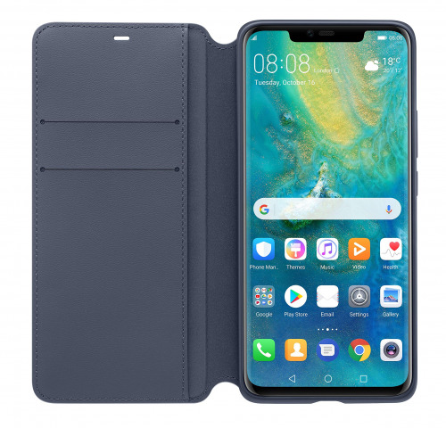 HUAWEI Mate 20 Pro Wallet Cover - رمادي ليلي