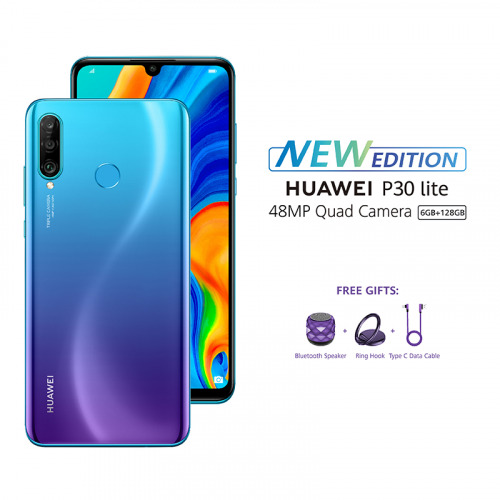 HUAWEI P30 Lite New - Peacock Blue