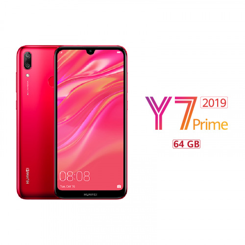 HUAWEI Y7 Prime 2019 - Coral Red - 64 GB