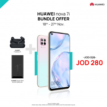 HUAWEI Nova 7i Outdoor Bundle